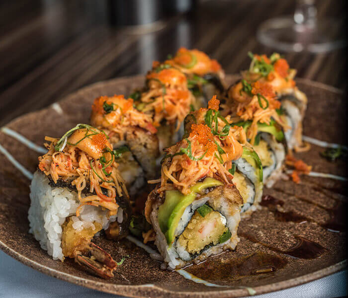 Henry Special Roll, Sushi, The Woodlands