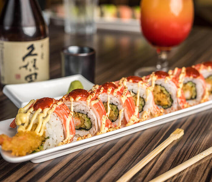 New York, Sushi, The Woodlands