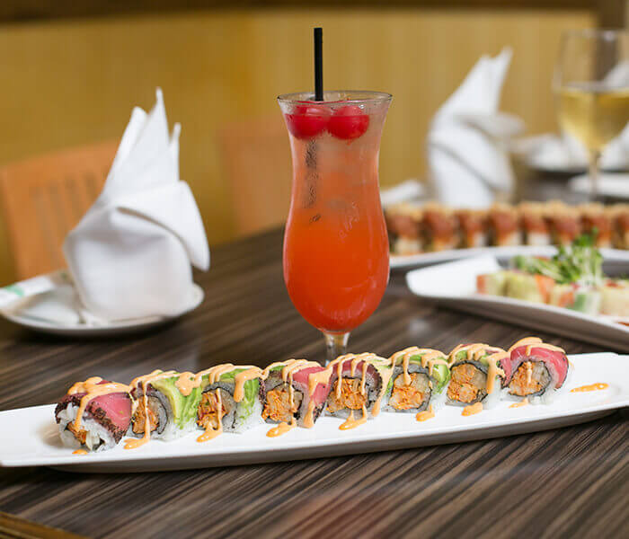 New orleans roll, Sushi, The Woodlands