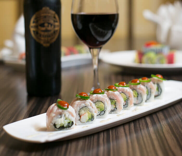 Woodlands Roll, Sushi, The Woodlands