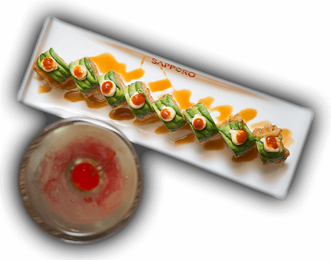 Sushi roll down the best restaurant in the woodlands